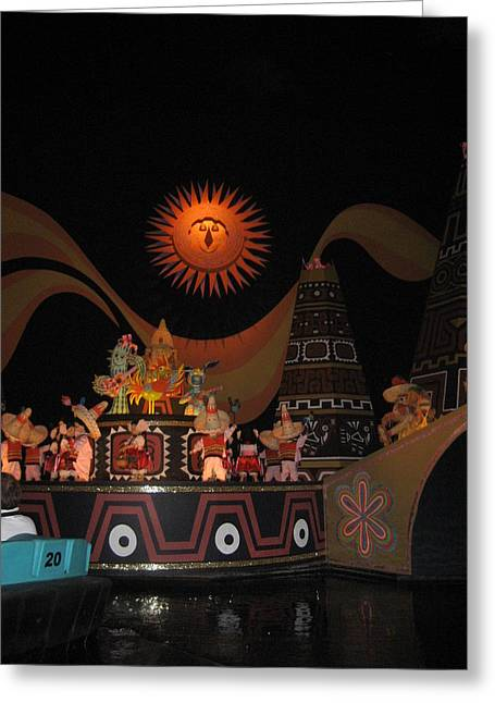 Magical Photographs Greeting Cards - Walt Disney World Resort - Magic Kingdom - 1212118 Greeting Card by DC Photographer