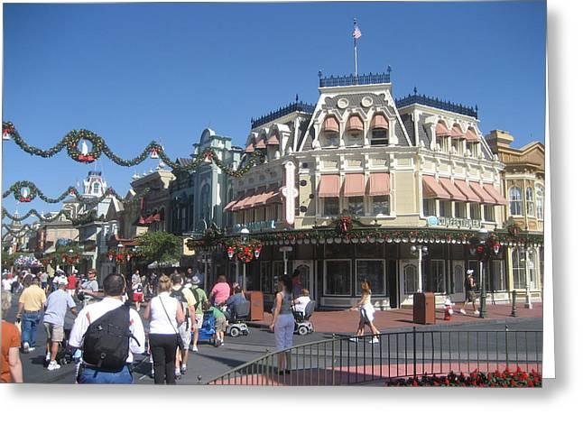 Magical Greeting Cards - Walt Disney World Resort - Magic Kingdom - 1212127 Greeting Card by DC Photographer