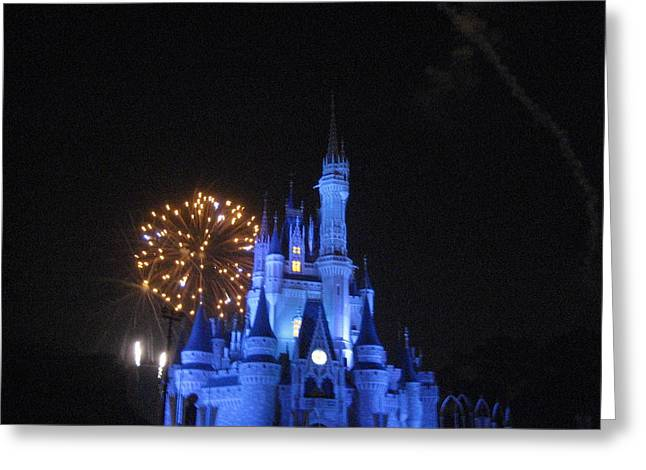 Magic Photographs Greeting Cards - Walt Disney World Resort - Magic Kingdom - 121213 Greeting Card by DC Photographer