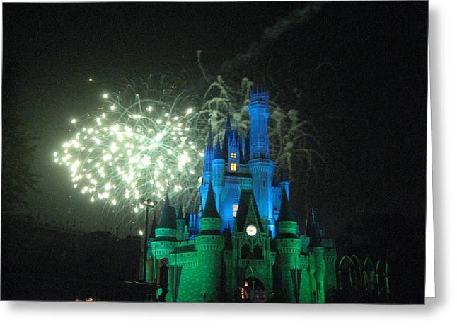 Disney Greeting Cards - Walt Disney World Resort - Magic Kingdom - 121218 Greeting Card by DC Photographer