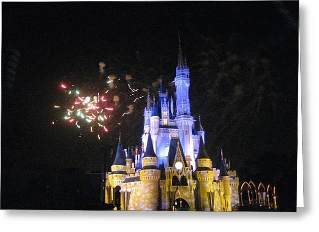 Orlando Greeting Cards - Walt Disney World Resort - Magic Kingdom - 121220 Greeting Card by DC Photographer