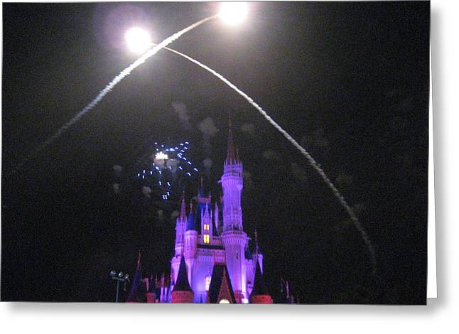 World Greeting Cards - Walt Disney World Resort - Magic Kingdom - 121223 Greeting Card by DC Photographer