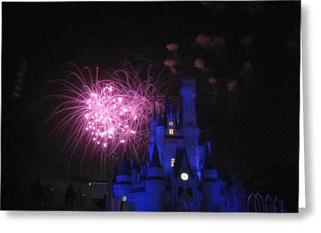 Walt Disney World Resort - Magic Kingdom - 121229 Greeting Card by DC Photographer
