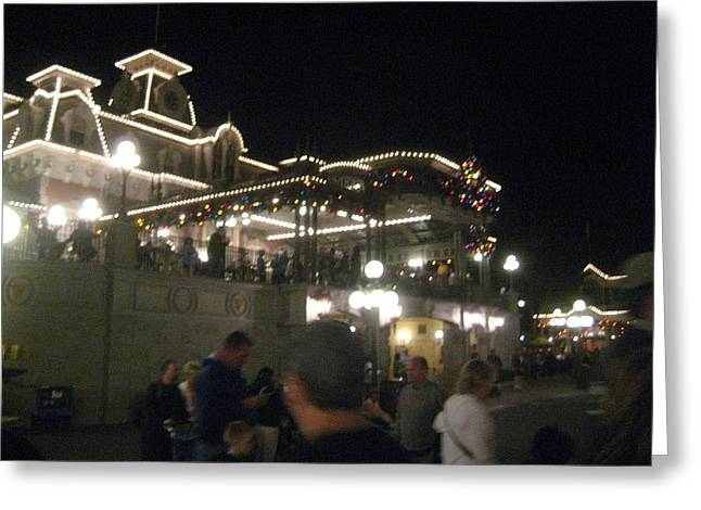 Walt Disney World Resort - Magic Kingdom - 12123 Greeting Card by DC Photographer