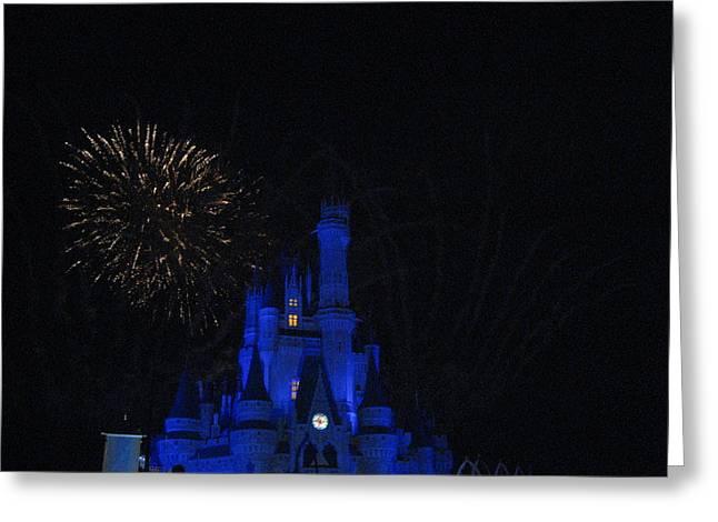 Orlando Greeting Cards - Walt Disney World Resort - Magic Kingdom - 121234 Greeting Card by DC Photographer