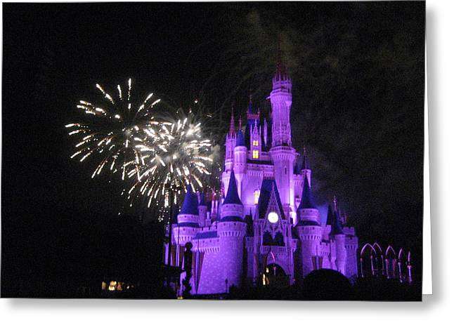 Rides Greeting Cards - Walt Disney World Resort - Magic Kingdom - 121235 Greeting Card by DC Photographer