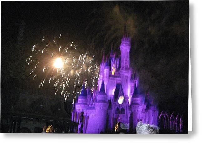 Orlando Greeting Cards - Walt Disney World Resort - Magic Kingdom - 121236 Greeting Card by DC Photographer