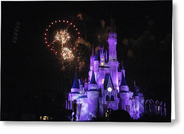 World Greeting Cards - Walt Disney World Resort - Magic Kingdom - 121240 Greeting Card by DC Photographer