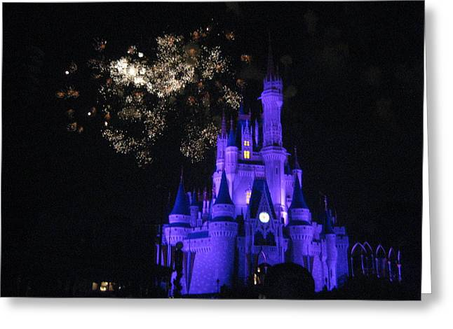 Park Greeting Cards - Walt Disney World Resort - Magic Kingdom - 121243 Greeting Card by DC Photographer