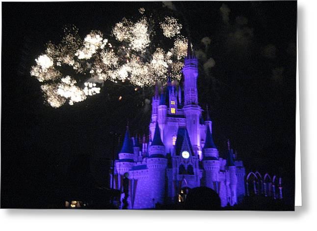 Walt Disney World Resort - Magic Kingdom - 121245 Greeting Card by DC Photographer