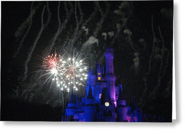 Walt Disney World Resort - Magic Kingdom - 121254 Greeting Card by DC Photographer