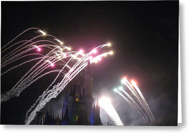 Magical Greeting Cards - Walt Disney World Resort - Magic Kingdom - 121259 Greeting Card by DC Photographer