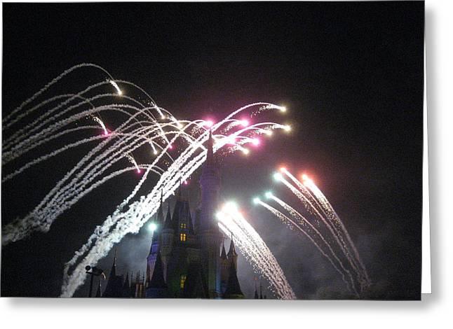 Magical Greeting Cards - Walt Disney World Resort - Magic Kingdom - 121260 Greeting Card by DC Photographer