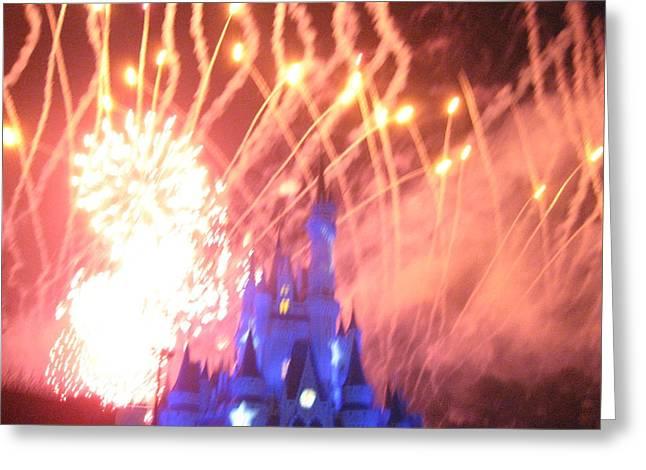 Walt Disney World Resort - Magic Kingdom - 121270 Greeting Card by DC Photographer