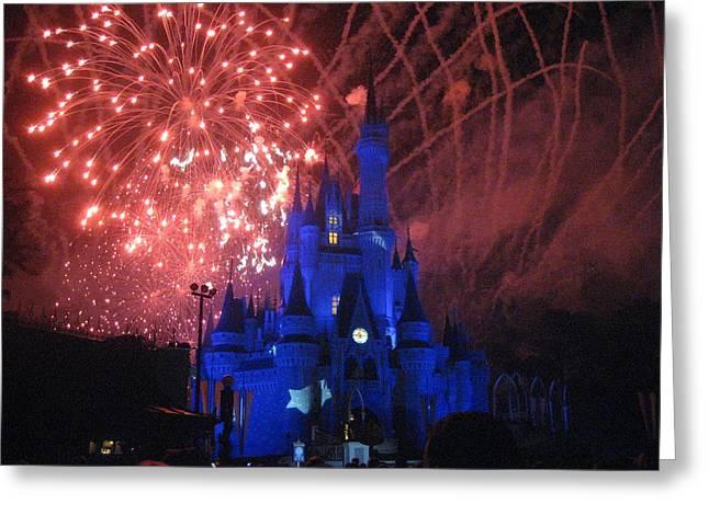 Walt Disney World Resort - Magic Kingdom - 121271 Greeting Card by DC Photographer