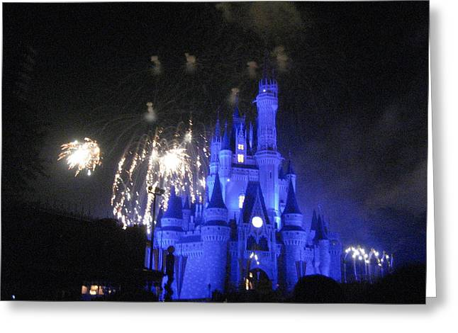 Magical Greeting Cards - Walt Disney World Resort - Magic Kingdom - 121277 Greeting Card by DC Photographer