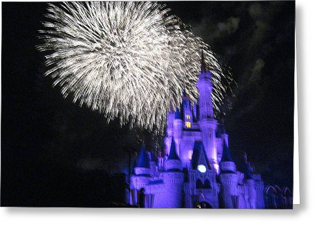 Magical Greeting Cards - Walt Disney World Resort - Magic Kingdom - 121280 Greeting Card by DC Photographer