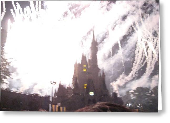 Walt Disney World Resort - Magic Kingdom - 121291 Greeting Card by DC Photographer
