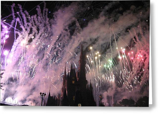 World Greeting Cards - Walt Disney World Resort - Magic Kingdom - 121293 Greeting Card by DC Photographer