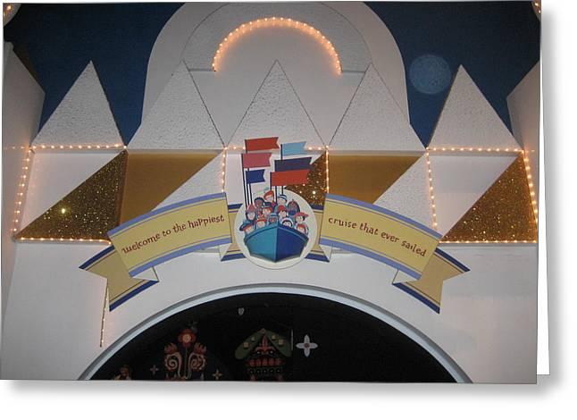 Disney Greeting Cards - Walt Disney World Resort - Magic Kingdom - 121299 Greeting Card by DC Photographer