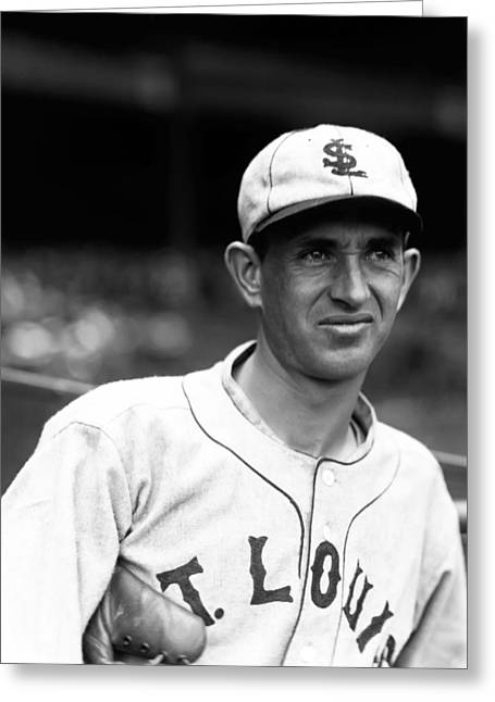 American League Photographs Greeting Cards - Walter C. Lefty Stewart Greeting Card by Retro Images Archive