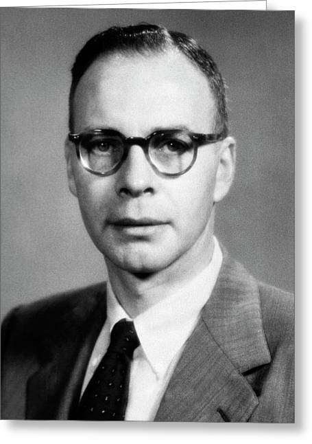 Walter H. Sheldon Greeting Card by National Library Of Medicine