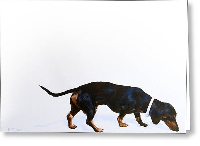 Kevin Hill Greeting Cards - Walter Greeting Card by Kevin Hill