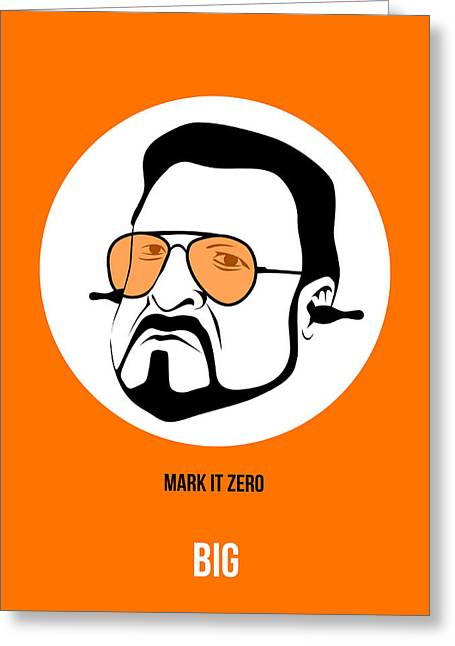 Walter Sobchak Poster 3 Greeting Card by Naxart Studio