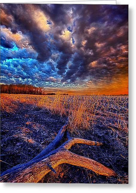 Shadows Greeting Cards - War of the Worlds Greeting Card by Phil Koch