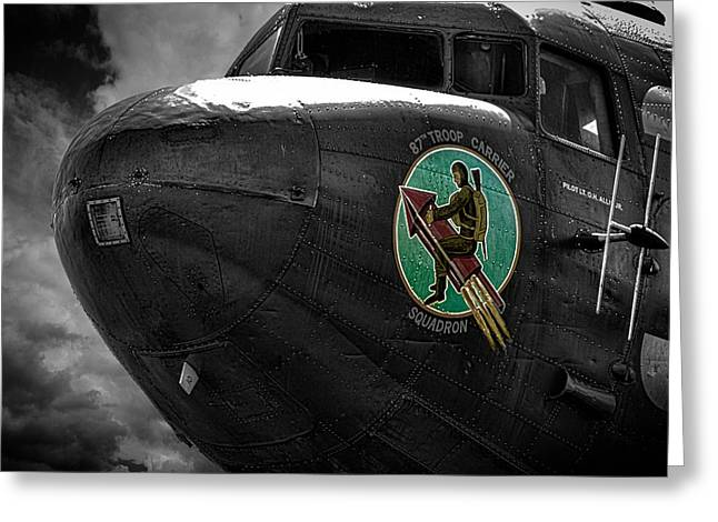 Historic England Greeting Cards - War Planes Greeting Card by Martin Newman