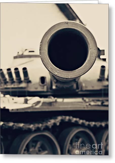 Tank Battalions Greeting Cards - War Tank Greeting Card by Dan Radi