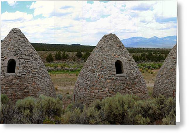 Charcoal Ovens Greeting Cards - Ward Charcoal Ovens Greeting Card by David Salter