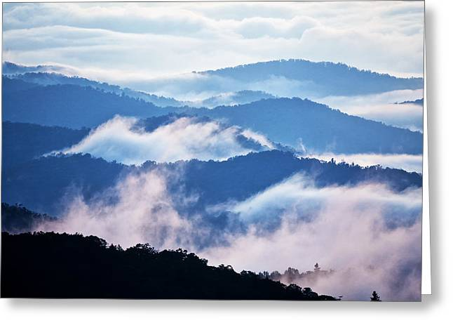 North Carolina Greeting Cards - Warm and Cool Greeting Card by Rob Travis