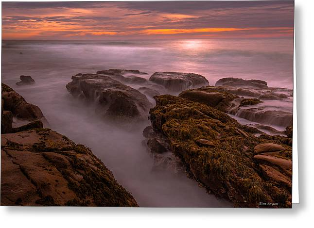 Cambria Greeting Cards - Warm Mist-Cambria Greeting Card by Tim Bryan