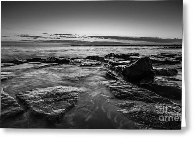 May 24 Greeting Cards - Warm Summer Glow bw Greeting Card by Michael Ver Sprill