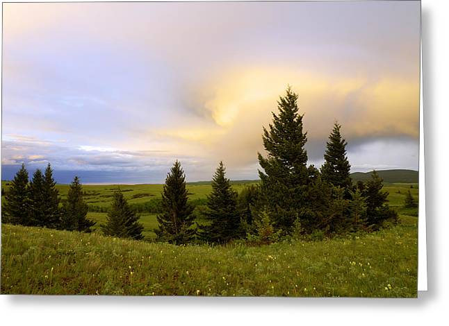 Field. Cloud Greeting Cards - Warm the Soul Greeting Card by Chad Dutson