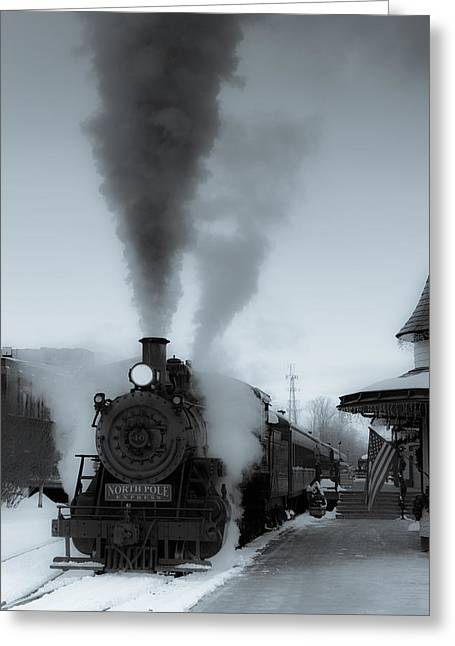 Express Greeting Cards - Warmth in the Cold Greeting Card by Scott Hafer