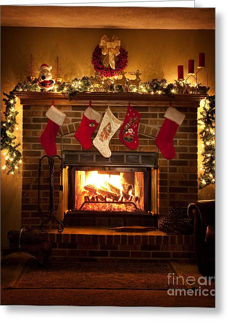 Photograpy Greeting Cards - Warmth of Christmas Greeting Card by Wayne Moran