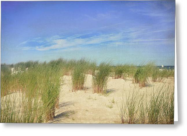 Beach Photographs Greeting Cards - Warnemunde Greeting Card by Nastasia Cook