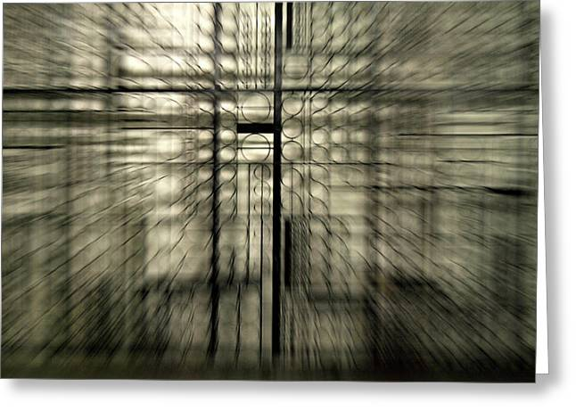 Frederico Borges Photographs Greeting Cards - Warp gate Greeting Card by Frederico Borges