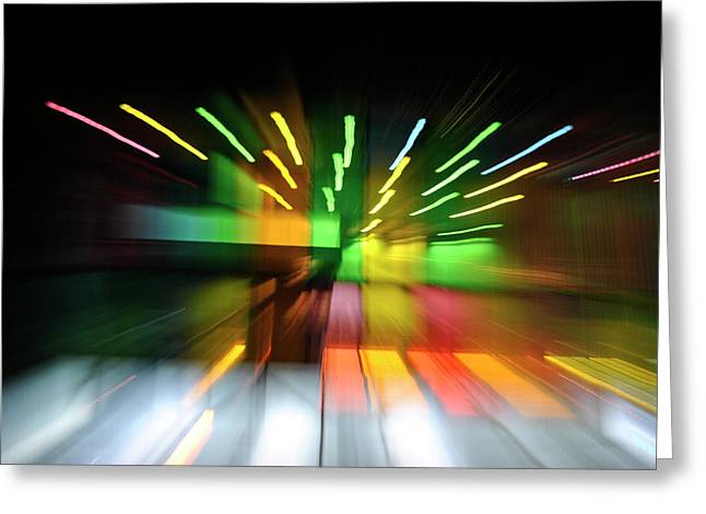 Frederico Borges Photographs Greeting Cards - Warping colors Greeting Card by Frederico Borges
