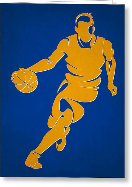Golden State Greeting Cards - Warriors Basketball Player1 Greeting Card by Joe Hamilton