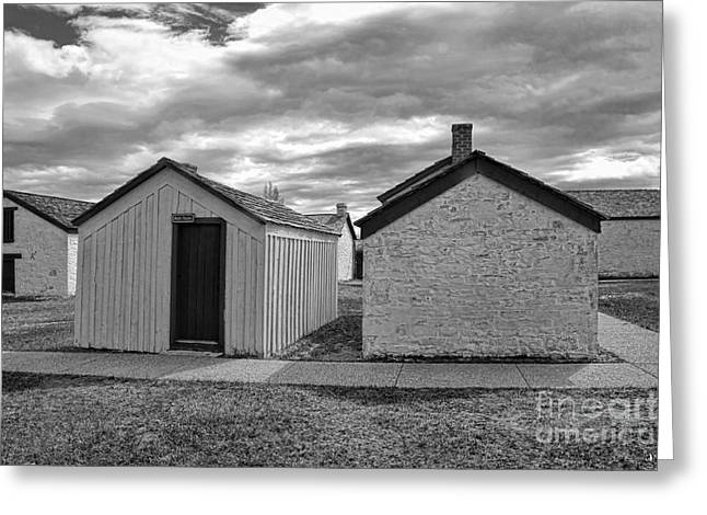 Carter House Greeting Cards - Wash House Greeting Card by Brenton Cooper
