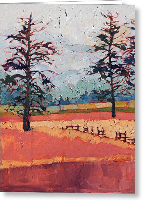 Loose Style Paintings Greeting Cards - Washington Color Greeting Card by Erin Hanson