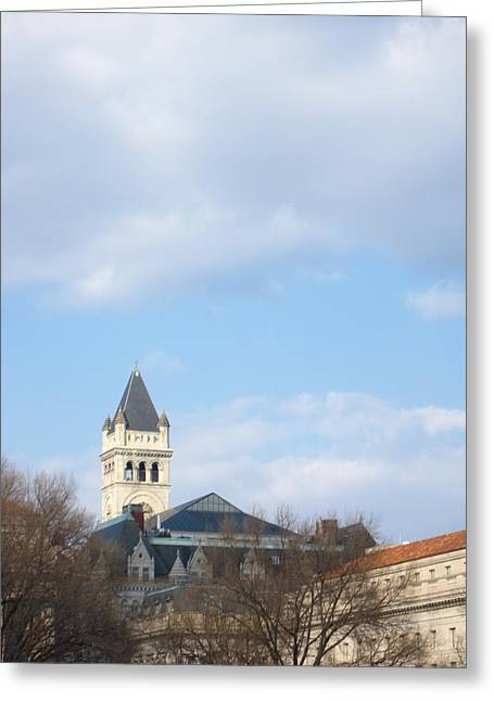 Capitol Greeting Cards - Washington DC - 12121 Greeting Card by DC Photographer