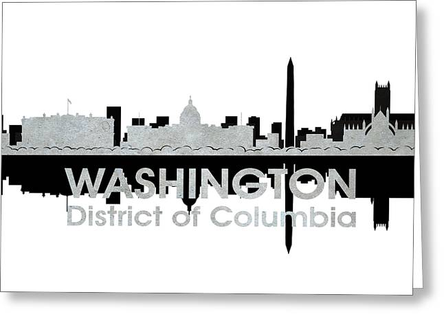 Industrial Icon Greeting Cards - Washington DC 4 Greeting Card by Angelina Vick