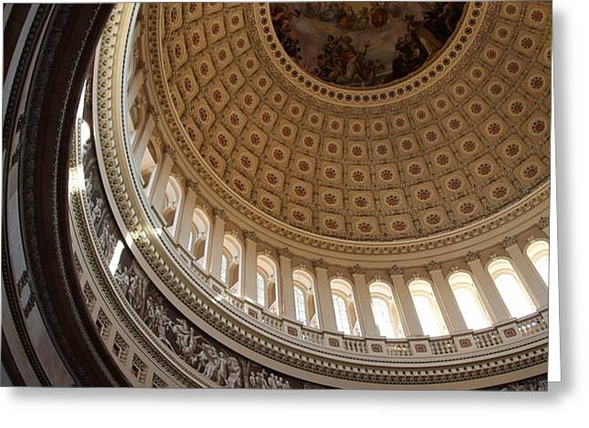 Washington DC - US Capitol - 011315 Greeting Card by DC Photographer