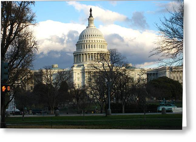 Washington Dc - Us Capitol - 12124 Greeting Card by DC Photographer