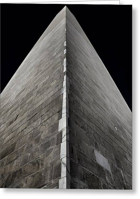 Spectacular Greeting Cards - Washington Monument Greeting Card by Marianna Mills