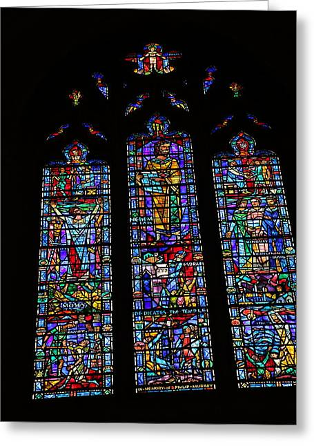 Creation Greeting Cards - Washington National Cathedral - Washington DC - 011313 Greeting Card by DC Photographer
